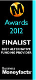 Business Moneyfacts Awards 2012: Shortlisted Best Alternative Funding Provider