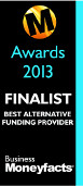 Business Moneyfacts Awards 2013: Shortlisted Best Alternative Provider