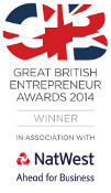 Great British Entrepreneur Awards 2015: Darren Westlake Winner of Financial Services Category
