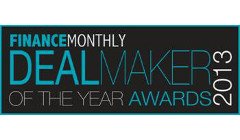 Finance Monthly: Winner Deal Maker of the year 2014