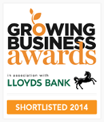 Growing Business Awards: Shortlisted for Innovator of the year